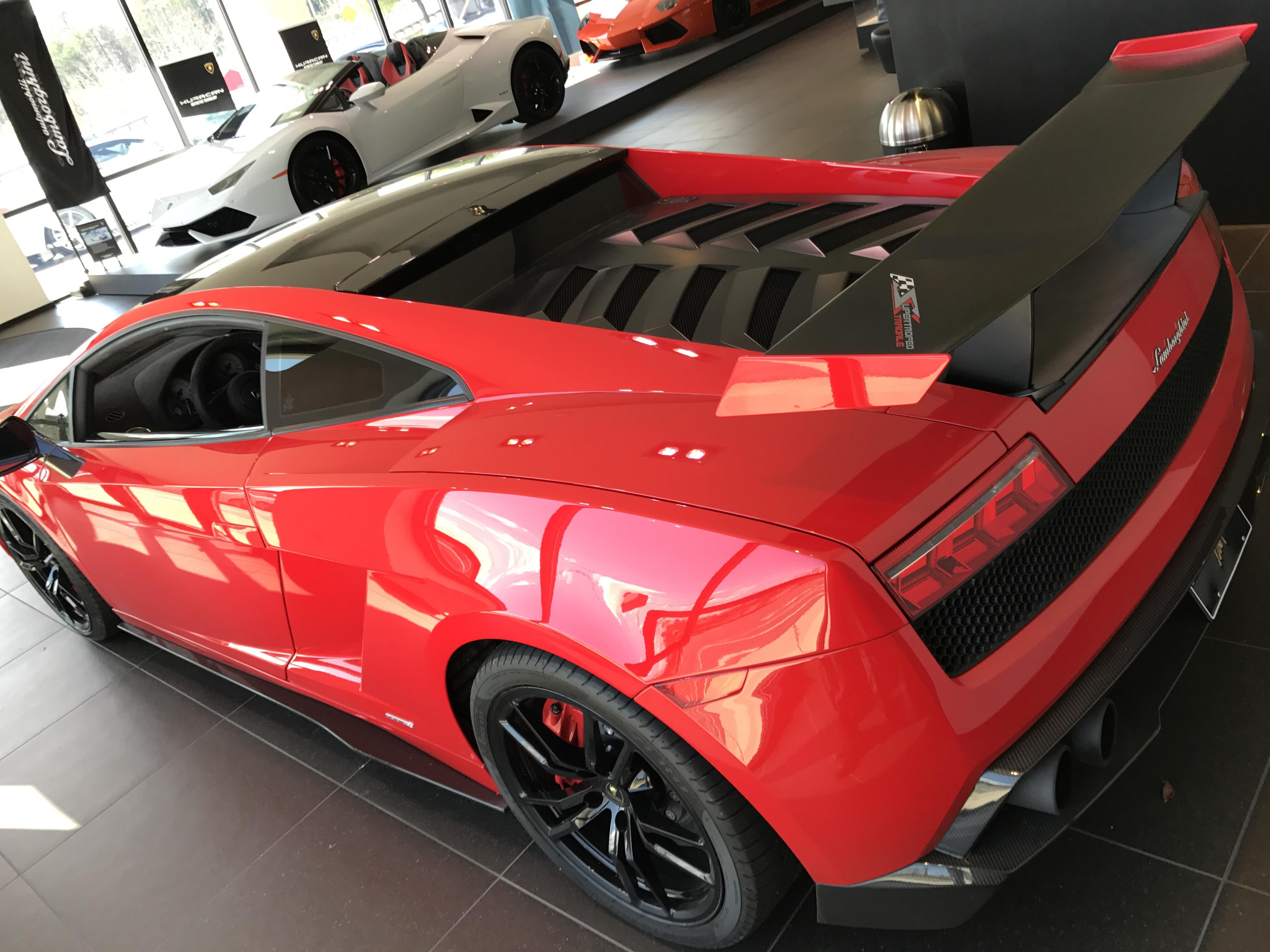 The Lamborghini Gallardo Super Trofeo Stradale The Car Files